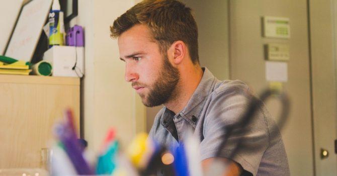 Barba Elegante Per L'ufficio