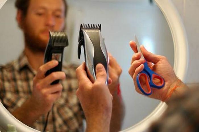 tagliare la barba